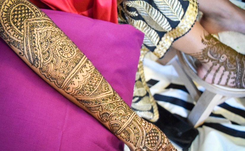 sima + curtis – mehndi ceremony